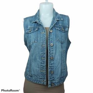 📣2/36$📣 Parasuco 2016 jeans vest size large